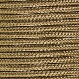 123Paracord Paracord 100 typ I Gold Braun