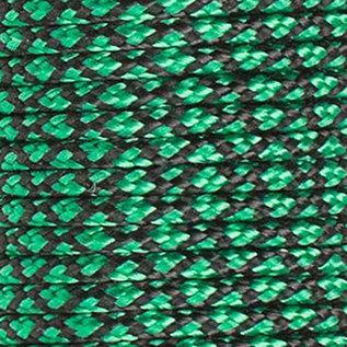 123Paracord Paracord 100 typ I Sea Grün Diamond