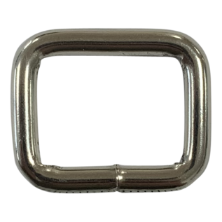 123Paracord Quadratische Ring 20X16mm extra robust geschweißt