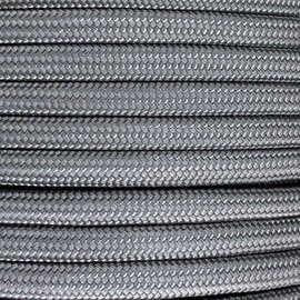 123Paracord 6MM PPM Seil Steel Grau