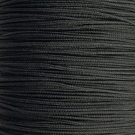123Paracord Microcord 1.4MM Schwarz