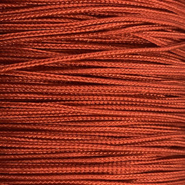 123Paracord Microcord 1.4MM Rot Chili