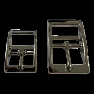 123Paracord DoppelstegSchnalle 20MM Silver