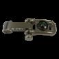 123Paracord Paracord D Verschluss Shackle 11MM Kompass