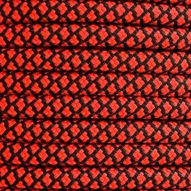 123Paracord 6MM PPM Seil Simply Rot Diamond