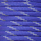 123Paracord Paracord 550 typ III Royal blue Reflektierend