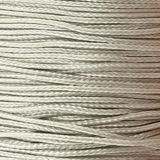 123Paracord Microcord 1.4MM Silber