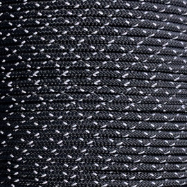 123Paracord Paracord 275 2MM Stars Reflektierend