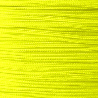 123Paracord Microcord 1.4MM Ultra Neon Gelb
