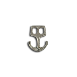 123Paracord Paracord Verschluss Anker Silber