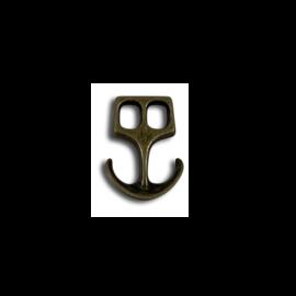 123Paracord Paracord Verschluss Anker Bronze