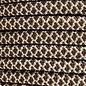 123Paracord 10MM PPM Seil weiss / Hazelnut braun