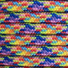 123Paracord 6MM PPM Seil Rainbow