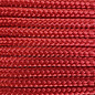 123Paracord Paracord 425 typ II Scarlet Rot