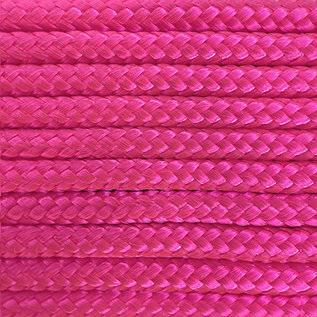 123Paracord Paracord 425 typ II Ultra Neon Rosa