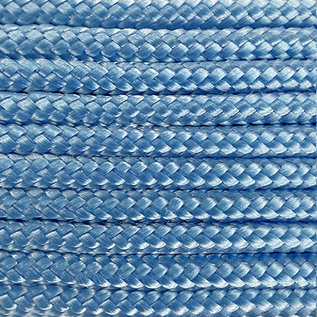 123Paracord Paracord 425 typ II Baby Blau
