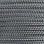 123Paracord Paracord 425 typ II Charcoal Grau