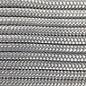 123Paracord Paracord 425 typ II Silber Grau