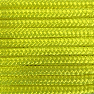 123Paracord Paracord 425 typ II Ultra Neon Gelb