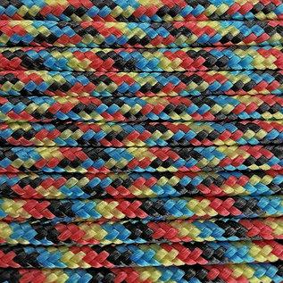 123Paracord Paracord 100 typ I Rainbow
