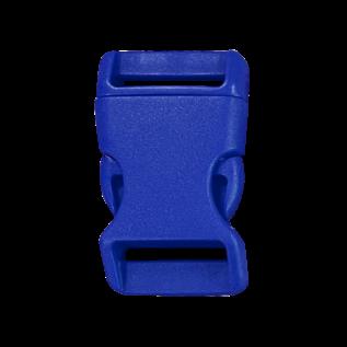 123Paracord Buckle 25MM Kunststoff Blau