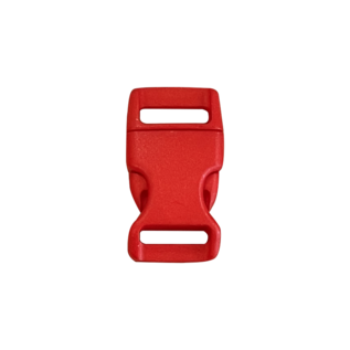 123Paracord Buckle 15MM Kunststoff Rot