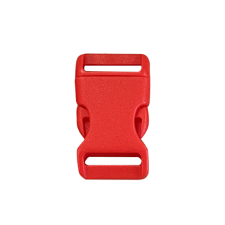 123Paracord Buckle 20MM Kunststoff Rot