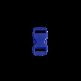 123Paracord Buckle 10MM Kunststoff Blau