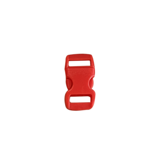 123Paracord Buckle 10MM Kunststoff Rot