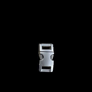 "123Paracord Alu-Max 10MM (3/8"") buckle matt satiniert Schnalle"