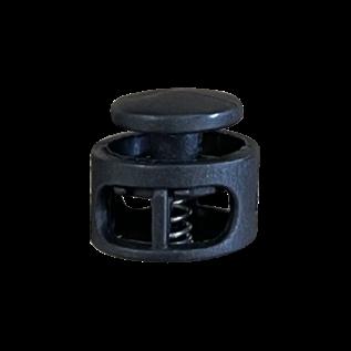 123Paracord Cord Lock stopper rund schwarz