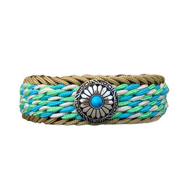 123Paracord Double Magic Frog Neon Turkis/Mint Typ 2