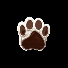 123Paracord perle metall hund Braun