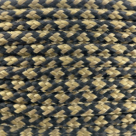 123Paracord Paracord 100 typ I Gold Braun Diamond