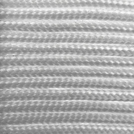 123Paracord Paracord 275 2MM weiß