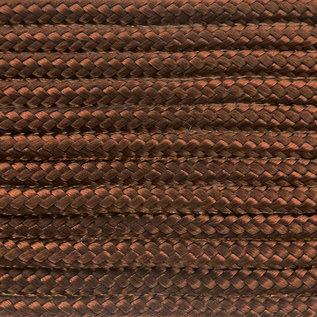 123Paracord Paracord 100 typ I Chocolate Braun