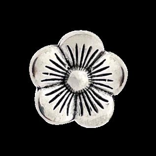123Paracord Schiebeperlenblume Silber