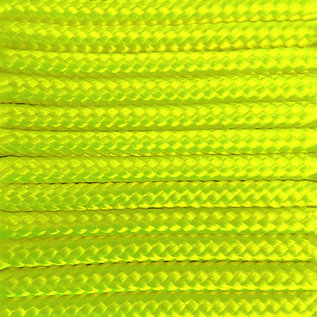 123Paracord Paracord 275 2MM Ultra Neon Gelb
