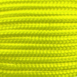 123Paracord Paracord 100 typ I Ultra Neon Gelb