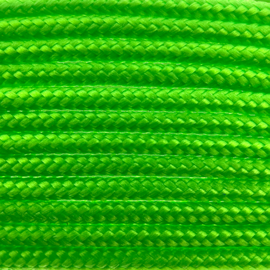 123Paracord Paracord 100 typ I Ultra Neon Grun
