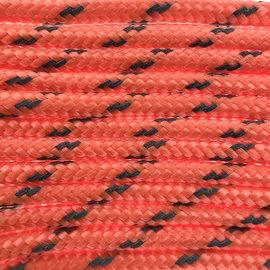 123Paracord Paracord 100 typ I Orange Neon Reflektierend