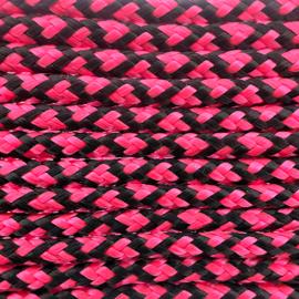 123Paracord Paracord 100 typ I Neon Rosa Diamond