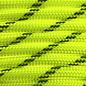 123Paracord Paracord 550 typ III Ultra Neon Gelb Reflektierend