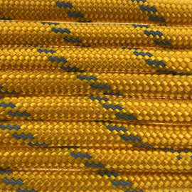 123Paracord Paracord 550 typ III Goldenrod Reflektierend
