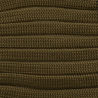 123Paracord Paracord 550 typ III Gold Braun Flach / Kernlose