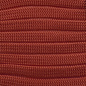 123Paracord Paracord 550 typ III Rot Chili Flach / Kernlose