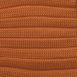 123Paracord Paracord 550 typ III Fox Orange Flach / Kernlose