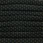 123Paracord Paracord 550 typ III Black Diamond Flach / Kernlose