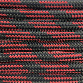 123Paracord Paracord 550 typ III Rot / Grun