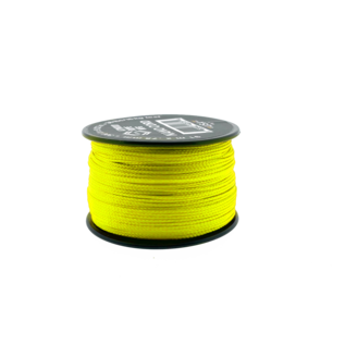 123Paracord Nano cord Neon Yellow 90mtr